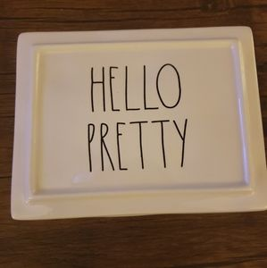 NEW! Rae Dunn Hello Pretty Jewelry box